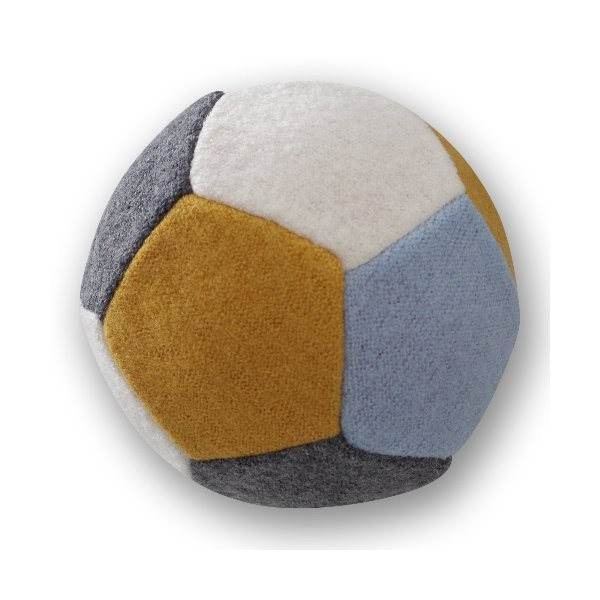Wollball mit Luft gefüllt